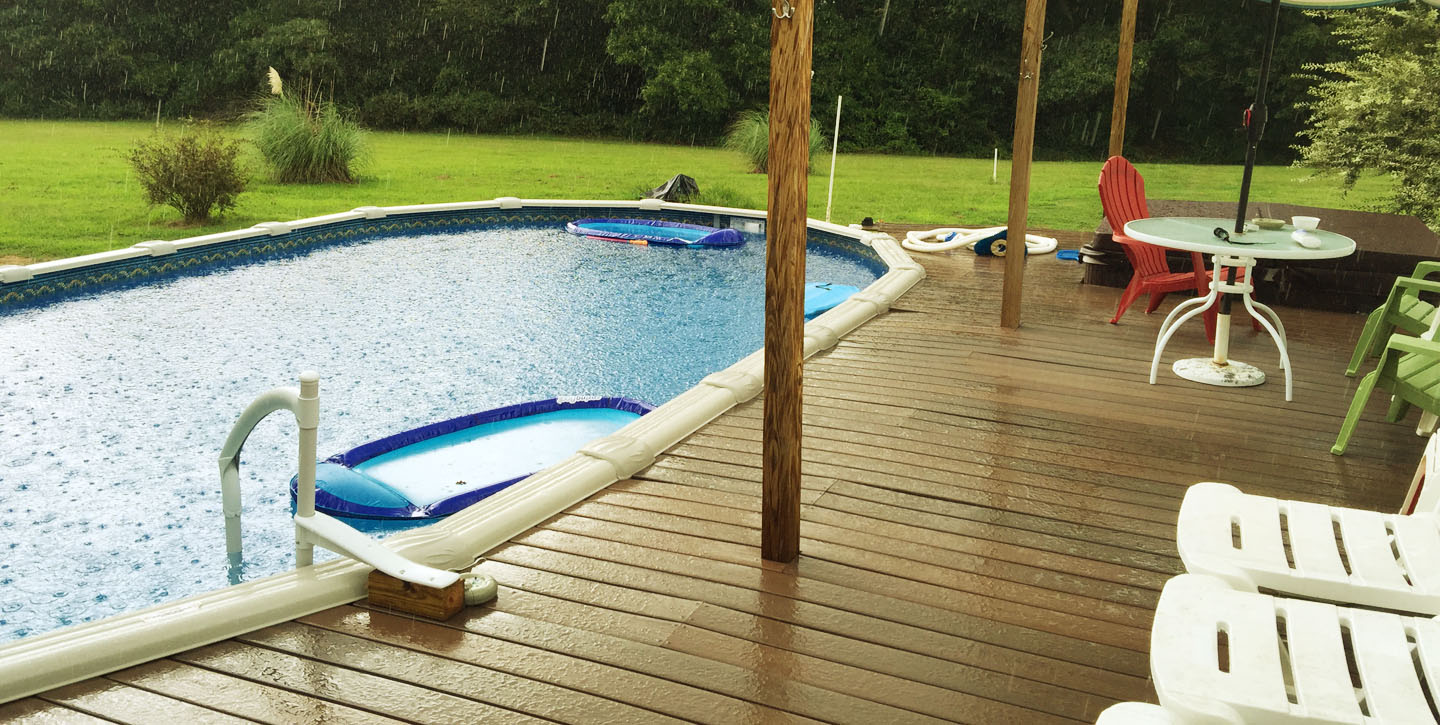 Leveling your pool