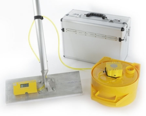 Smart Leveler with Aluminum Caring Case and Concrete Bull Float